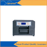 De digitale UVMachine van de Printer A4 om op het Metaal van het Blad met Witte Inkt Af te drukken