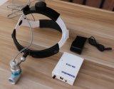 외과 재충전용 높은 광도 LED 헤드라이트 램프
