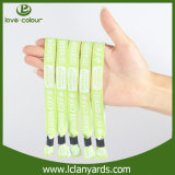 Сплетенные полиэфиром Wristbands печатание резьбы для случаев