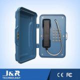 Telefone impermeável do túnel, telefone robusto industrial, telefone sem fio de mineração, telefone do SIP do túnel