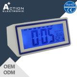راديو يضبط مصغّرة [ديجتل] تقديم مكتب ساعة مع قمر طوق