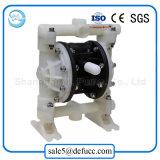 Pompe de drainage pneumatique d'eaux résiduaires de membrane de teflon