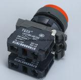 Interruttore di pulsante della scanalatura con i colori rossi e verdi 220V