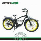 Bicyclette électrique de batterie au lithium avec le frein de zoom