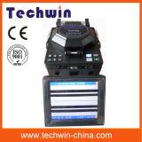 Машина Tcw605 стекловолокна цифров соединяя сведущая для конструкции линий хобота и FTTX