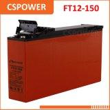 FT12-150/155 UL terminale avant de la CE de système solaire de la batterie 12V150ah 12V155ah