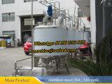 La mezcla de vapor del tanque de 1000 litros de leche Calefacción
