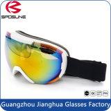 Óculos de proteção polarizados adulto do esqui da névoa dos óculos de proteção do esqui do Snowboard anti com padrão do En do Ce