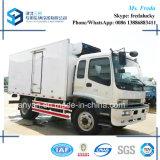 Carro del congelador del carro del refrigerador de Isuzu Fvr 10t los 6.4m