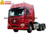 De Vrachtwagen van de Tractor 371HP van Sinotruk HOWO 6X4 voor de Vrachtwagen van de Aanhangwagen