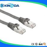 Cable el 1M de la cuerda de corrección de la red de SFTP CAT6 RJ45
