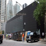 Construction légère préfabriquée de centre commercial de structure métallique