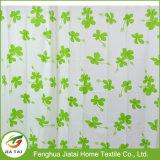 Tenda di acquazzone verde Mint stampata della tenda di acquazzone grande