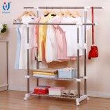 Ensemble extensible de magasin de vêtements extensible Rack Rack