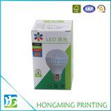 Projetar a caixa de cartão da importação para a luz do diodo emissor de luz