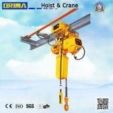 전기 트롤리를 가진 Brima 3t 최신 판매 전기 체인 호이스트