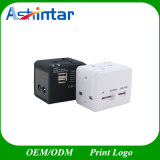 Spina internazionale universale del mondo del USB dell'adattatore di corsa del caricatore Port di corrente alternata