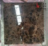 フロアーリングまたは壁のタイルまたは建築材料のためのEmperadorの自然な大理石の暗い大理石のタイル