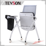 Asiento plegable silla del bolso de formación de malla con la tableta
