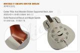 Guitare en laiton acoustique de résonnateur de corps en métal de prix usine d'OEM à vendre