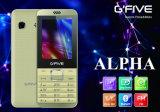 Telefoon van de Eigenschap van Gfive de Alpha- met FCC, Ce, 3c