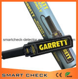携帯用金属探知器の機密保護の金属探知器