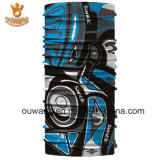 Divers cuir épais multifonctionnel personnalisé d'écharpe de Bandana de vélo de modèle
