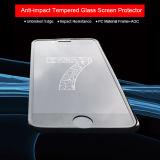 3Dは十分にiPhone 7のための電話アクセサリの反影響の緩和されたガラススクリーンの保護装置をカバーした