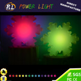 Decoração e presente plásticos do Natal da lâmpada do diodo emissor de luz Derorative de Event&Party