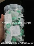 Tipo filtro da agulha para filtros estéreis da seringa da desinfeção esteróide do petróleo