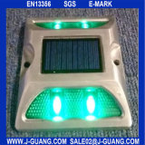 Green Road Stud Reflective Marker