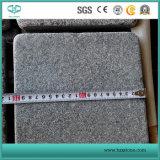 Mattonelle grige scure del granito G654, mattonelle di pavimentazione, rivestimento della parete, punti delle scale, Decking facente fronte del raggruppamento, pietra per lastricati, pavimentazione del granito