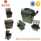 Коробка места рыболовства зеленого цвета PP материальная