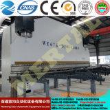 Горяче! Electro гидровлическая гибочная машина CNC We67k-2000/10000, тормоз давления