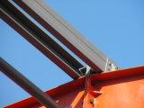 Estructura de acero pintada útil para el cuadrado del jardín y el aparcamiento