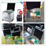 Verificador claro portátil do lúmen do CRI do diodo emissor de luz CCT da esfera de integração da caixa do lúmen