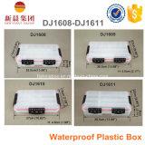 Caixa de plástico impermeável não tóxica transparente