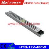 gestionnaire ultra mince de 12V480W DEL avec la fonction de PWM (HTB Serires)