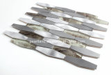 De Tegel van het Patroon van het Mozaïek van het Glas van de Mengeling van het aluminium voor Muur