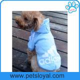 Ropa del perro de la capa del animal doméstico de Adidog de la manera de la fábrica