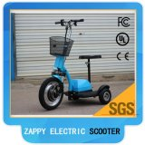 Moped Mobility 3wheel 800W Zappy Scooter électrique Big Tire