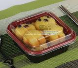 Wegwerfplastiktogo-Nahrungsmittelkasten des nachtischs 350ml