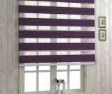 Le zèbre à la maison de décoration de pièce de guichet aveugle le rideau en guichet