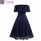 Großhandelsform-elegantes reizvolles Dame-Sommer-Kleid L36175-4
