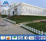 Tente écologique permanente de chapiteau de stationnement de mur en verre pour à l'extérieur