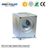 Galvo 모터를 가진 10mm 가늠구멍 Sg7110 Laser 표하기 Galvo 스캐너
