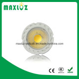 GU10 MR16 LED punto luz 8W COB con lente