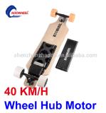 E-Patín de cuatro ruedas electrónico de Longboard