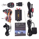 SIM Card GPS Car Tracking Device Tk103 met Relay