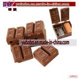 Briefpapier-gesetzte Schokoladen-Bleistiftspitzer-Schule-Zubehör-Förderung (G8062)